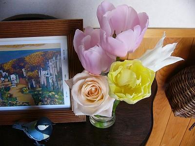 tulip&rose