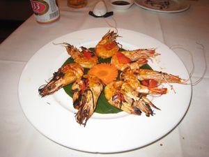 ベトナムハウス エビの辛味焼き