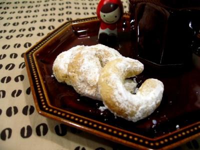 ウィーンの有名なクッキーなのです♪
