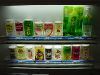 ジュース自販機