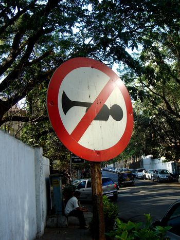 近所の道路標識