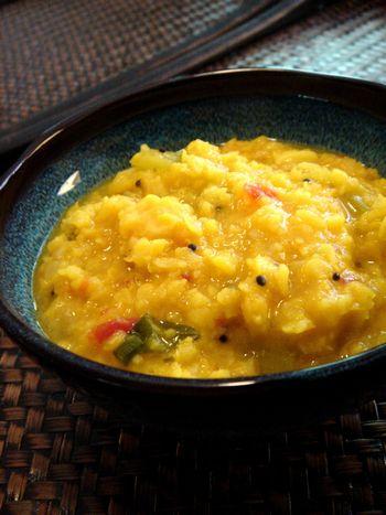 ムングダルと瓜のカレー