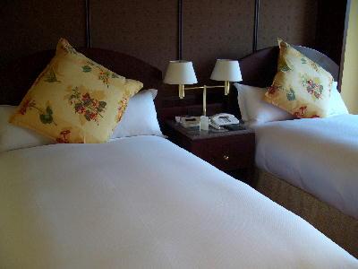 ベッドメイキング@プラザホテル試泊