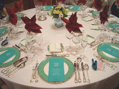 テーブルセッティング@シンデレラクラブ・テーブルマナー