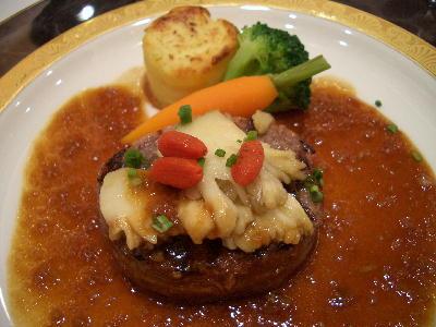 肉料理@シンデレラクラブ・テーブルマナー
