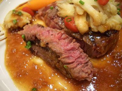 お肉の焼き加減@シンデレラクラブ・テーブルマナー