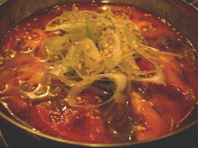 ミニ冷麺@けむり屋