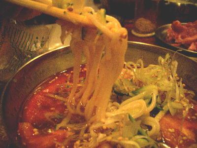 ミニ冷麺2@けむり屋