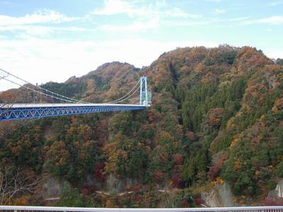 吊り橋@竜神大吊橋
