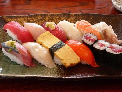 にぎり寿司@みなと寿司