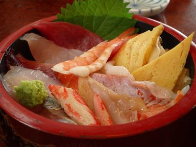 ちらし寿司@みなと寿司