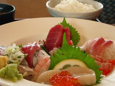 刺身盛定食@みなと寿司