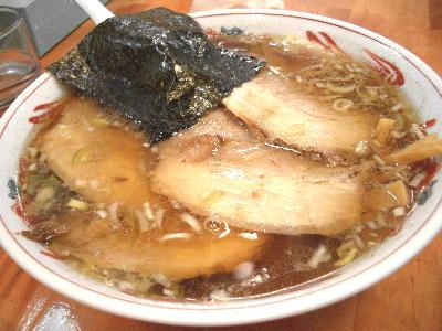 チャーシュー麺@梟