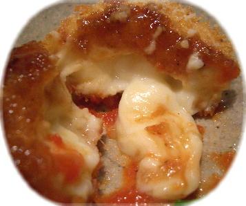 モッツァレラチーズのクリームコロッケ2@LOW