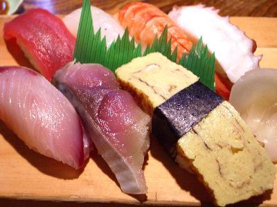 にぎり寿司並@うをずし