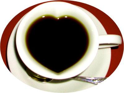 ハートのコーヒー@リブ