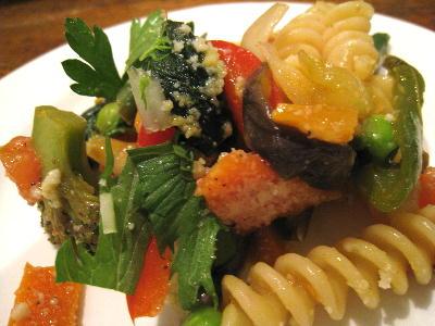 野菜のパスタ2@メティエ