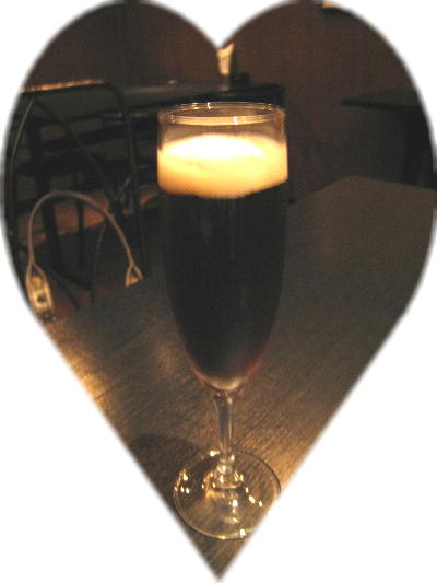 シャンパン+黒ビール@NAO'S