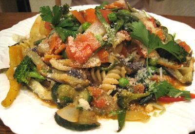 野菜のパスタ3@メティエ