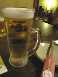 ビール@かちかち山