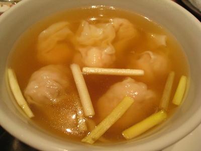 ワンタンスープ@菜香新館