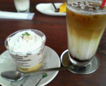 バナナムースプリン&モカカフェ
