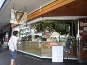チーズバーガー店