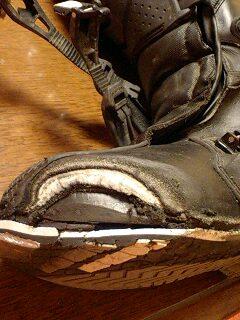ブーツ 施工前