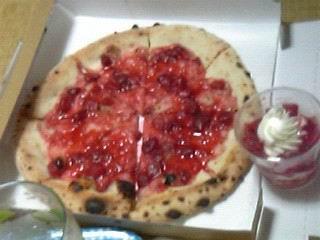 イチゴピザ1