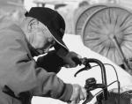 おじいさんと自転車