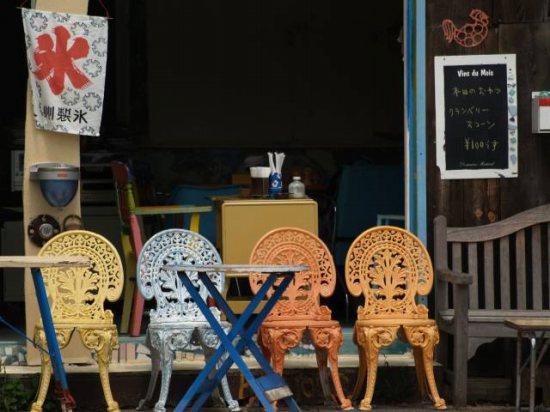 島のカフェ