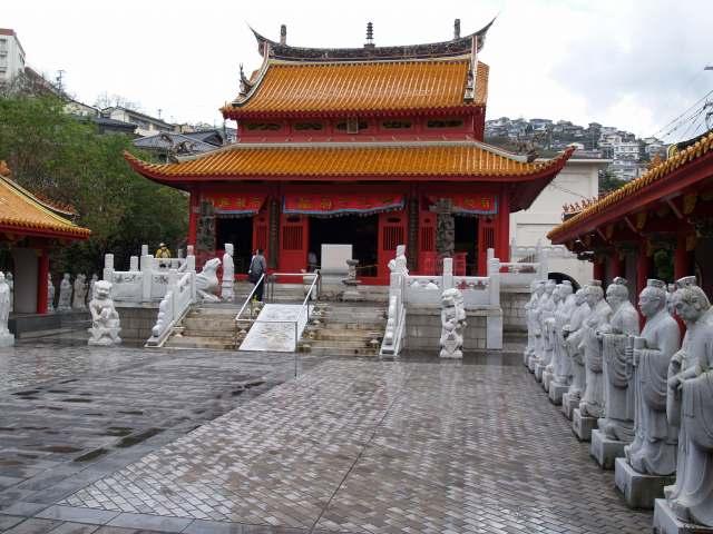 孔子廟にて