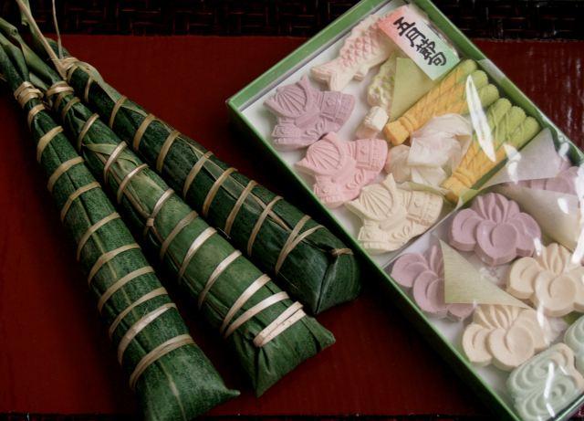 ちまき・和三盆の菓子