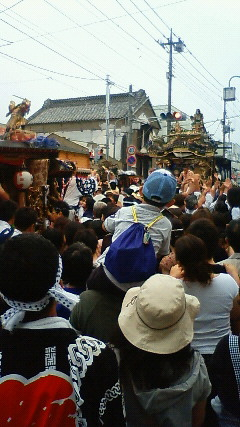山あげ祭最終日