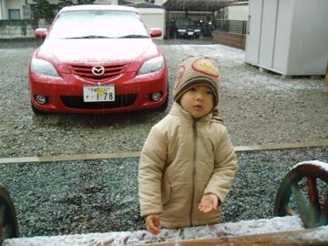1月12日初雪