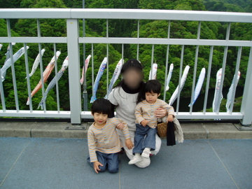 龍神峡大吊橋/2