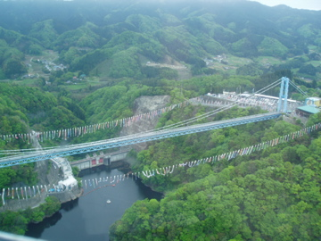 龍神峡大吊橋/3