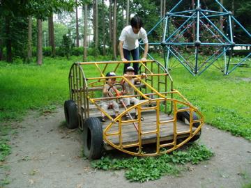パパと公園で