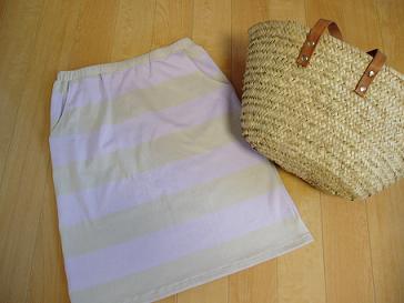 ママのニットスカート