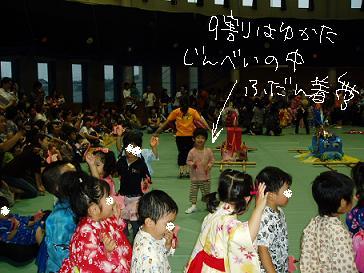 納涼祭での盆踊り(?)