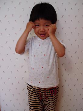 てんとう虫のお揃いTシャツ:志貴