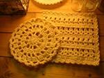手編みドイリー1