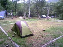 知床キャンプ地
