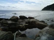 海辺の露天風呂混浴