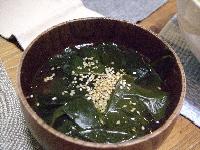 4:9わかめスープ