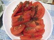 6:9トマトのオニオンソース