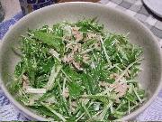 6:26水菜ツナ