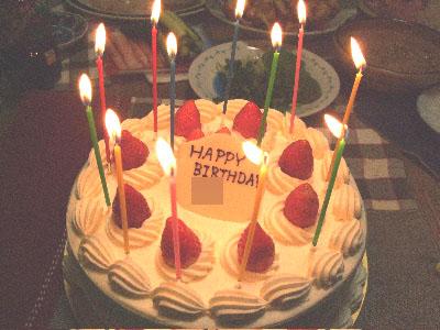 10:12ケーキ