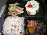 新幹線の中でお弁当