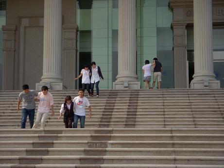 二人三脚:階段